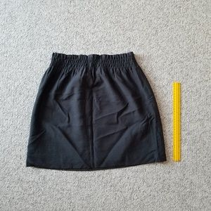 J crew elastic waist band mini skirt